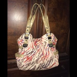 Kathy VanZealand Bag. Multicolored, Double Handle